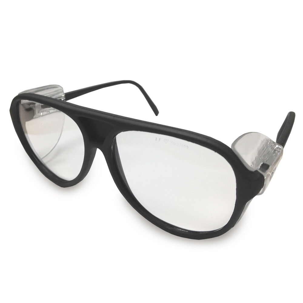 JSP ILES Amazon Safety Spectacles Black Frame Clear Lens Glasses ...