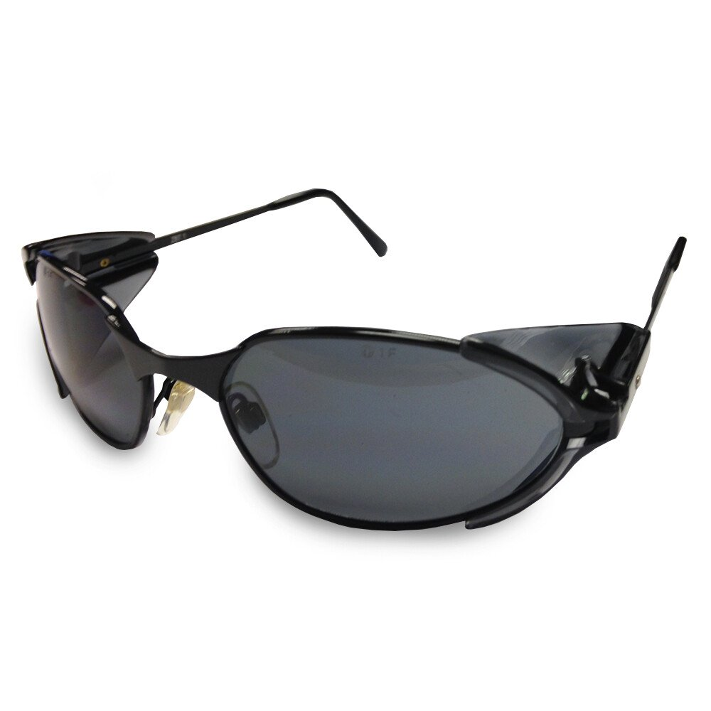 JSP ASA320-025-800 Stealth 2202 Smoke Tinted UV400 Safety Glasses Spectacles