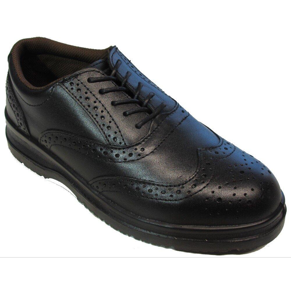 COG 062 M606200 Executive Brogue S1-P Safety Shoe Black (UK6 EU39)