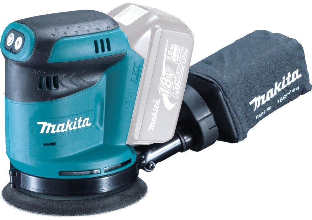 Makita DBO180Z Body Only 18v LXT 125mm Random Orbit Sander