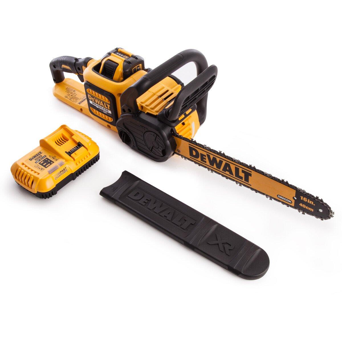 DeWalt DCM575X1-GB 54V XR Flexvolt Chainsaw with 1x 9.0Ah Battery