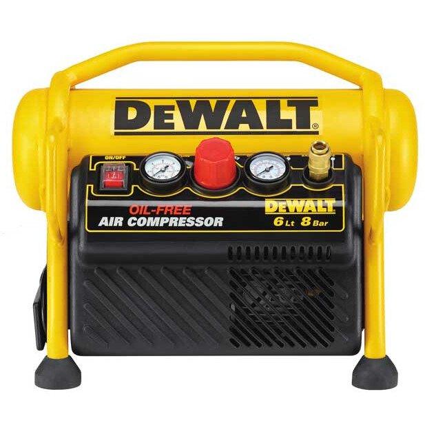 Dewalt DPC6MRC-GB 240V 6l Oil Free Air Compressor