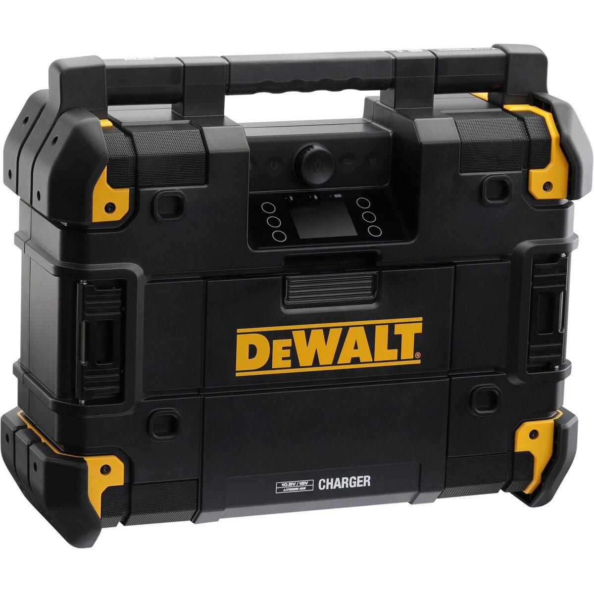 DeWalt DWST1-81079-GB TStak DAB Job Site Radio & Charger