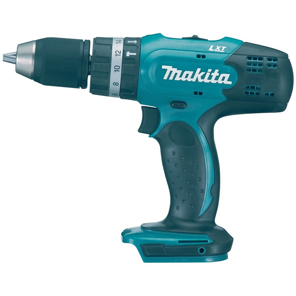 Makita DHP453FX12 18V LXT Combi Drill with1x 3.0Ah Battery and Accessories in Case