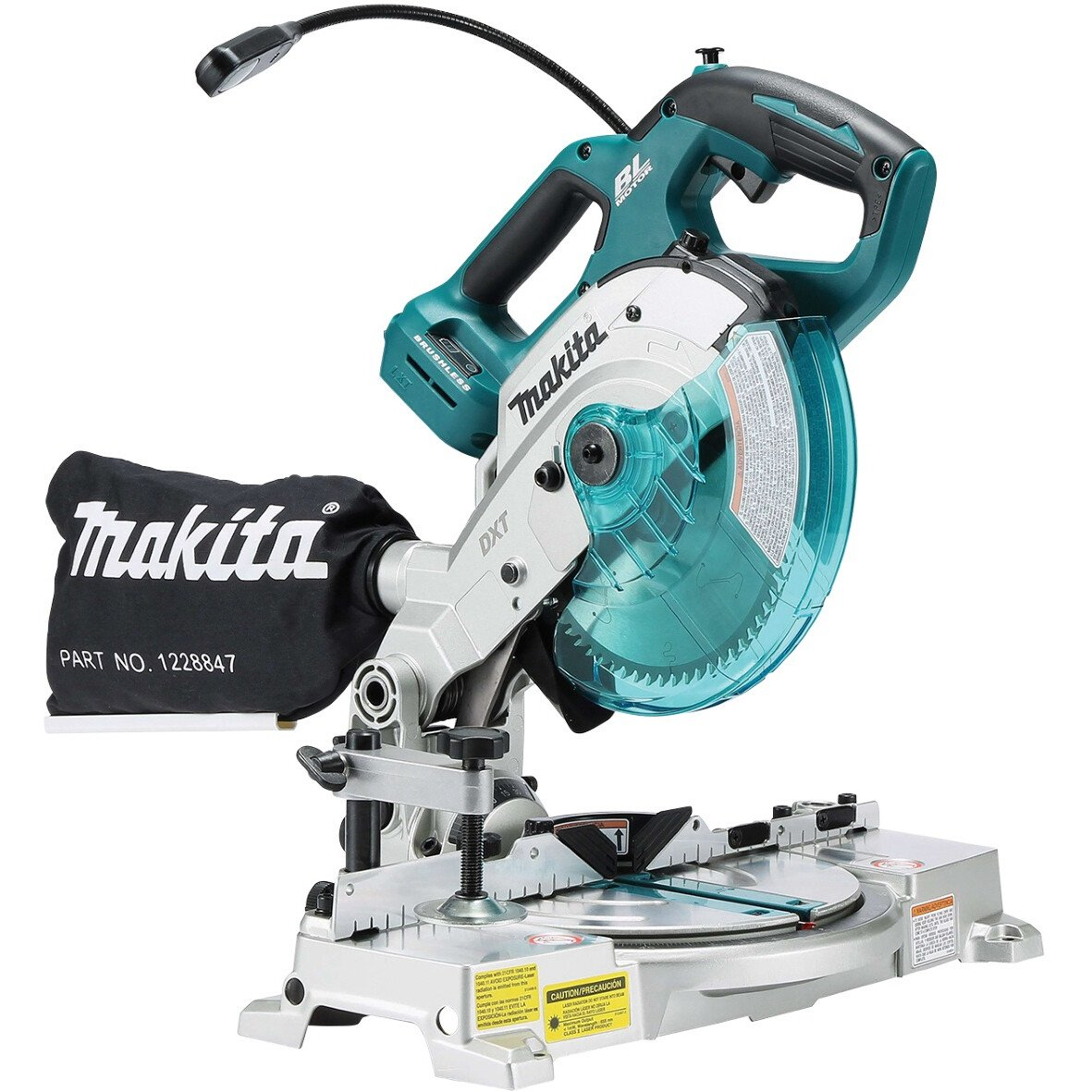 Makita DLS600Z Body Only 18v Brushless Mitre Saw 165mm