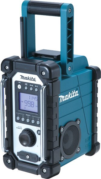 Makita DMR107 Body Only Jobsite AM/FM Radio Mains or Cordless Blue