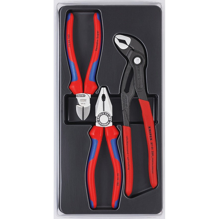 Knipex 64537 Pliers Set 3pc