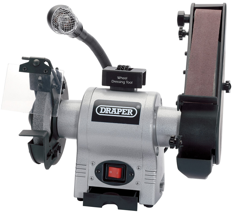 Draper 05096 Gd650a 150mm 370w 230v Bench Grinder With