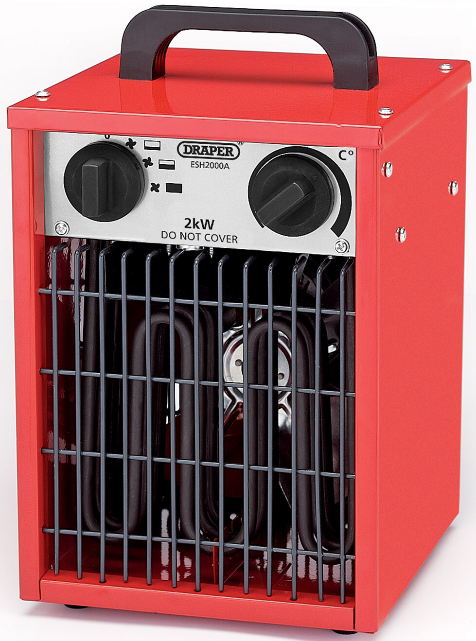 Draper 07216 ESH2000A 2kW 230V Space Heater