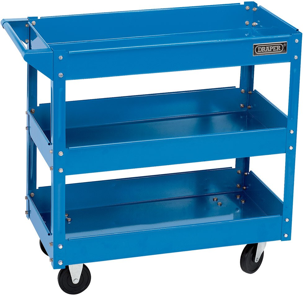 Draper 07630 TTB3 3 Tier Tool Trolley