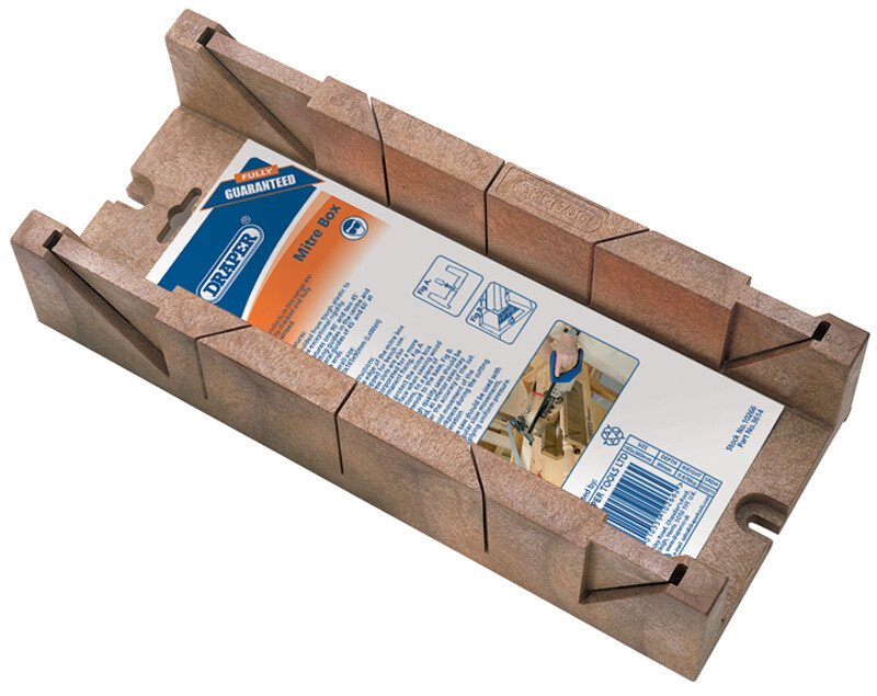 Draper 10266 3614 360mm X 110mm X 60mm Mitre Box