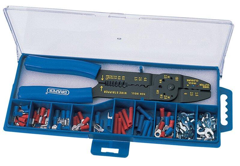 Draper 13658 CT-K 5 Way Crimping Tool and Terminal Kit