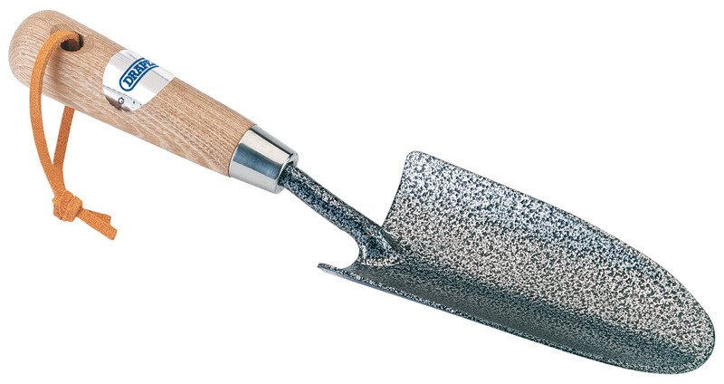 Draper 14313 A3081/I Carbon Steel Heavy Duty Hand Trowel with Ash Handle