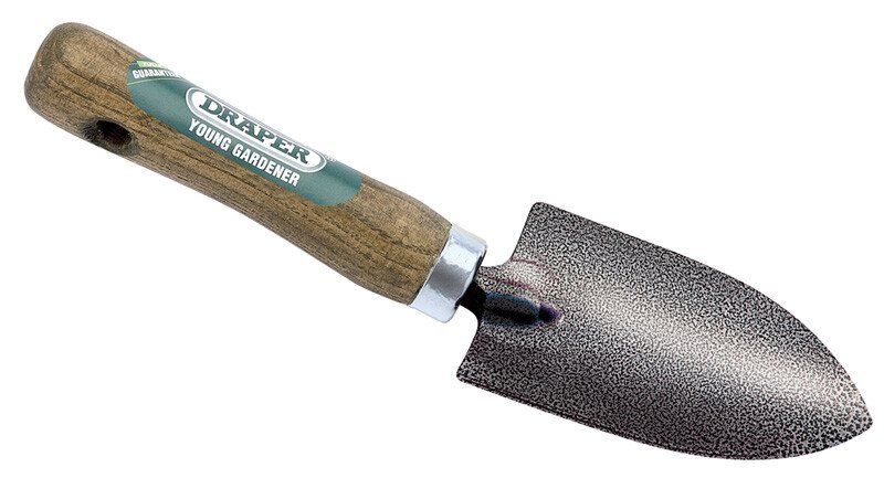 Draper 20707 YG/HT Young Gardener Hand Trowel with Ash Handle