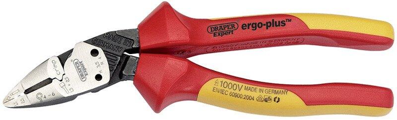 Draper 26482 DEP1 Expert 185mm Draper Expert Ergo Plus Fully Insulated Vde Pliers