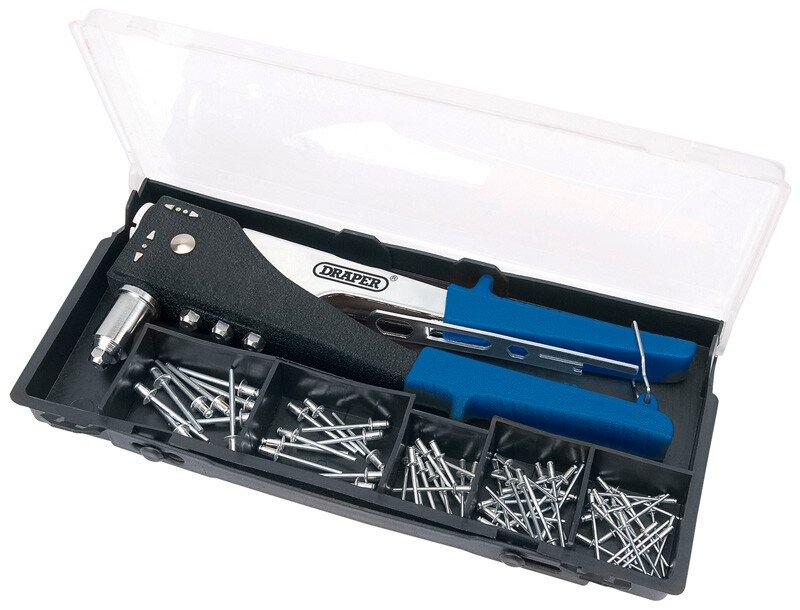 Draper 27848 268AKA 2 Way Hand Riveter Kit
