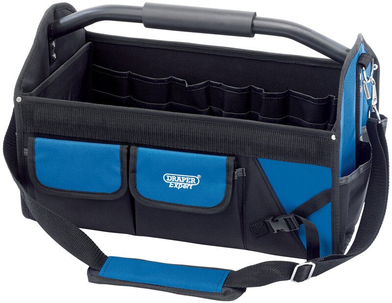Draper 31593 FTTB14 Expert 26 L Folding Tool Bag With Heavy Duty Base