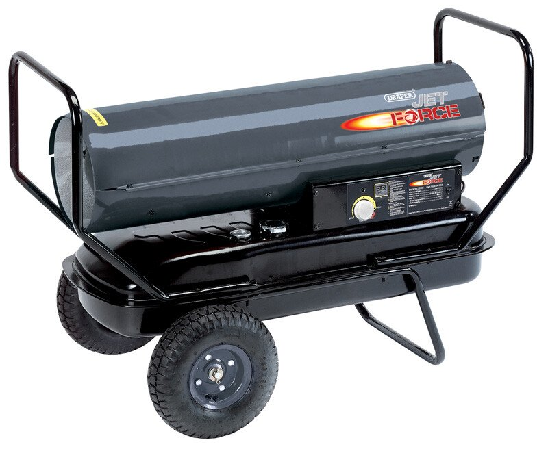 Draper 32285 DSH1250 Diesel/Kerosene Space Heater (125,000 BTU/36kW)