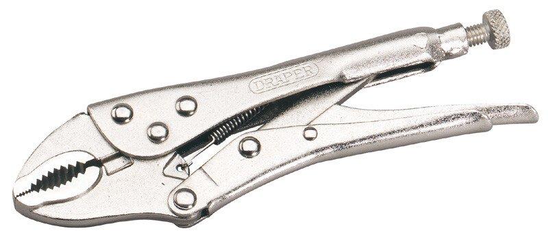 Draper 35368 9006A 190mm Curved Jaw Self Grip Pliers