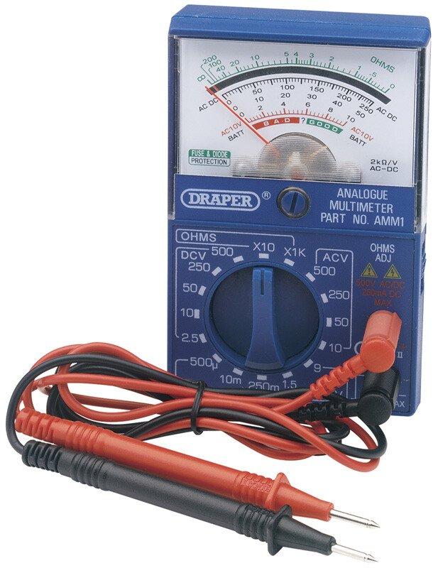 Draper 37317 AMM1 Pocket Analogue Multimeter