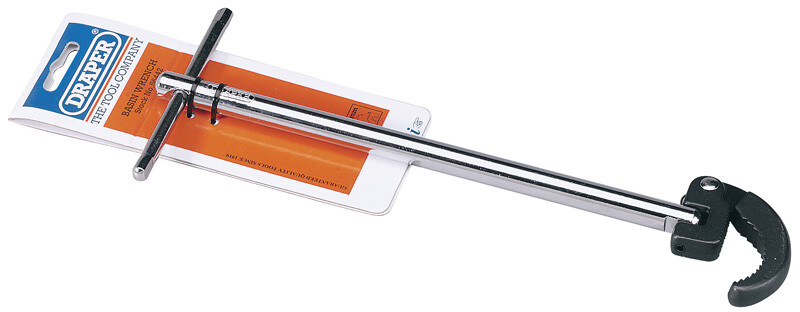 Draper 56442 18L 48mm Capacity Adjustable Basin Wrench