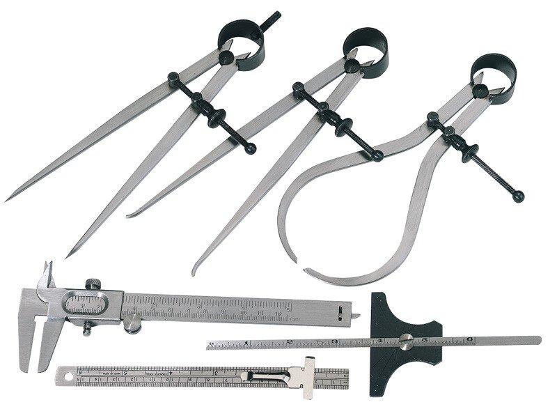 Draper 59110 MS-6 6 Piece Measuring Set