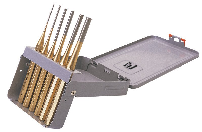 Draper 74712 119K Expert 6 Piece Octagonal Parallel Pin Punch Set