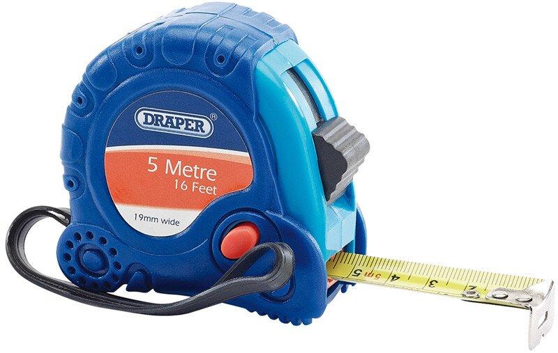 Draper 75299 EMTG 5 M/16ft X 19mm Measuring Tape