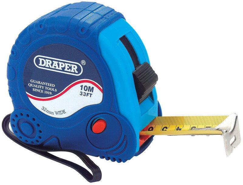 Draper 75301 EMTG 10 M/33ft X 32mm Measuring Tape