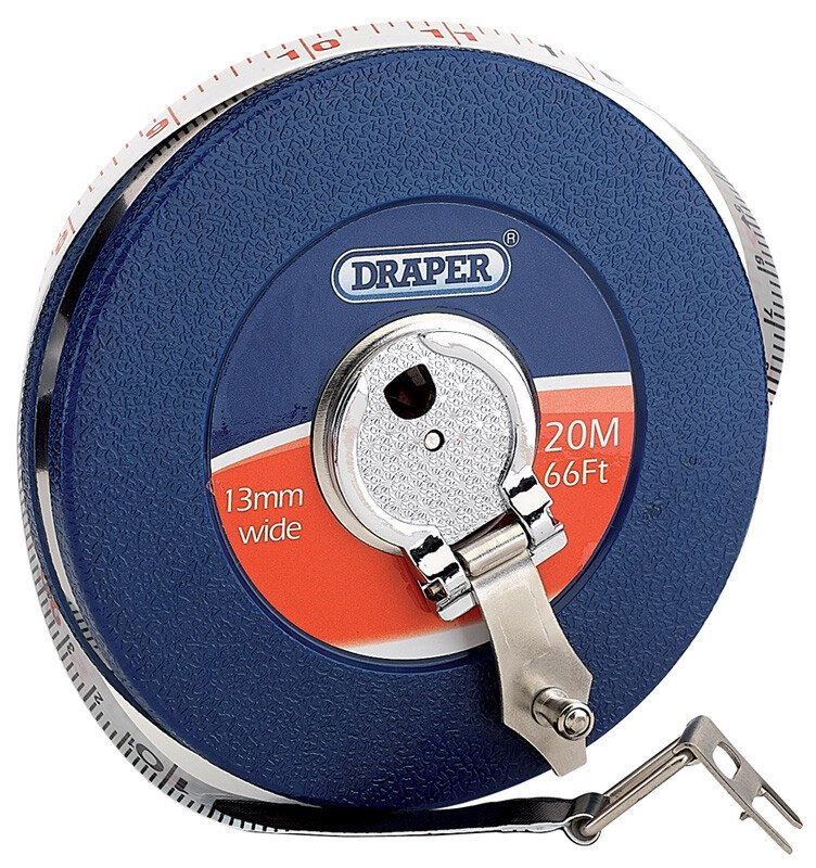 Draper 88215 STFG Expert 20 M/66ft Fibreglass Measuring Tape