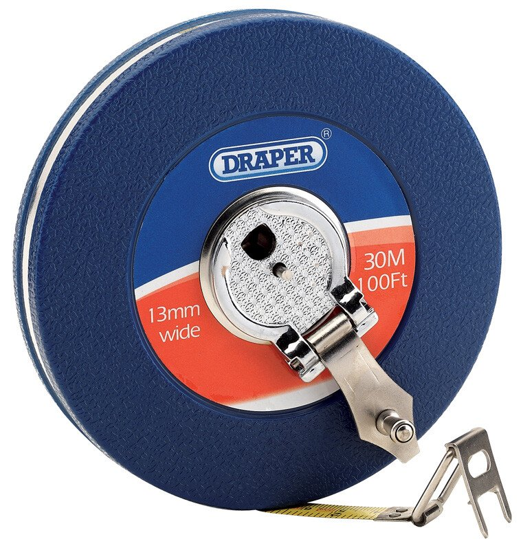 Draper 88217 SST30 Expert 30 M/100ft Steel Measuring Tape