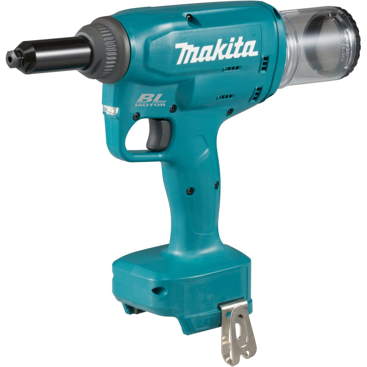 Makita DRV150Z 18v Body Only Rivet Gun with 2.4-.4.8mm Nose Pieces