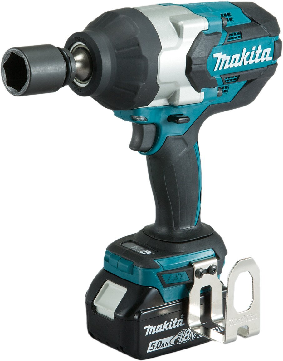 """Makita DTW1001RTJ 18v 3/4"""" Square Drive 1050Nm Impact Wrench with 2 Batteries in Case"""