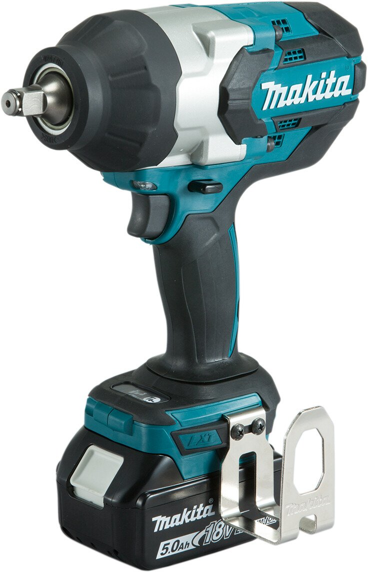 """Makita DTW1002RTJ 18v 1/2"""" Square Drive 1000Nm Impact Wrench with 2 Batteries in Case"""
