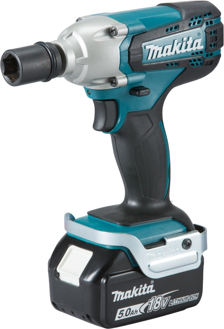 """Makita DTW190RMJ 18v Li-ion Impact Wrench 1/2"""" Square Drive 190Nm with 2 Batteries"""