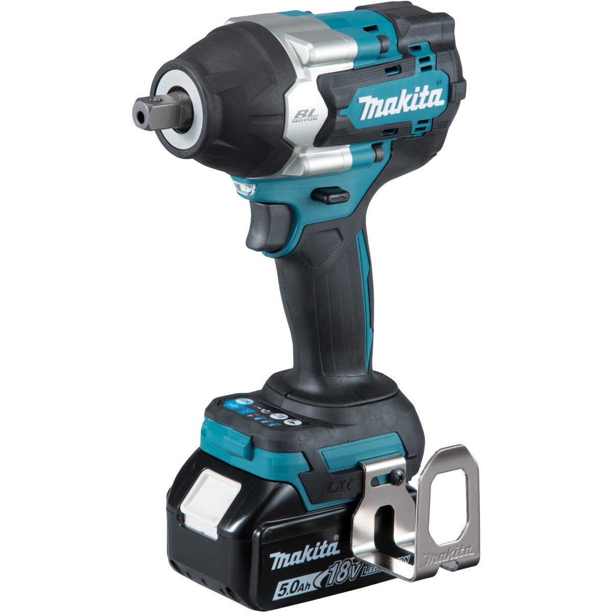 "Makita DTW701RTJ 18v 1/2"" Square Drive Impact Wrench 700Nm with 2 Batteries in Case"
