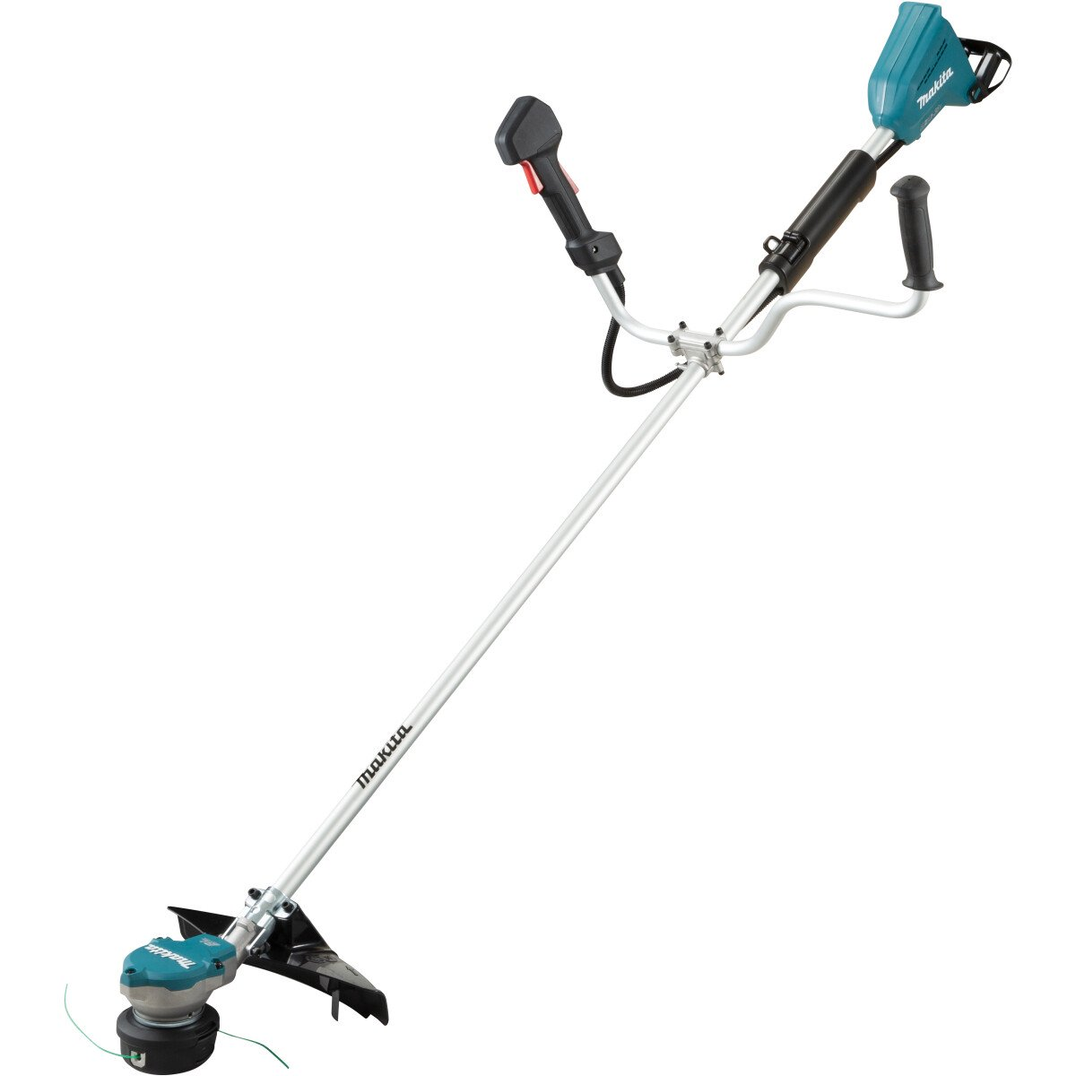 Makita DUR368APG2 Twin 18V Brushless 35cm Brush Cutter with 2 x 6.0Ah Batteries