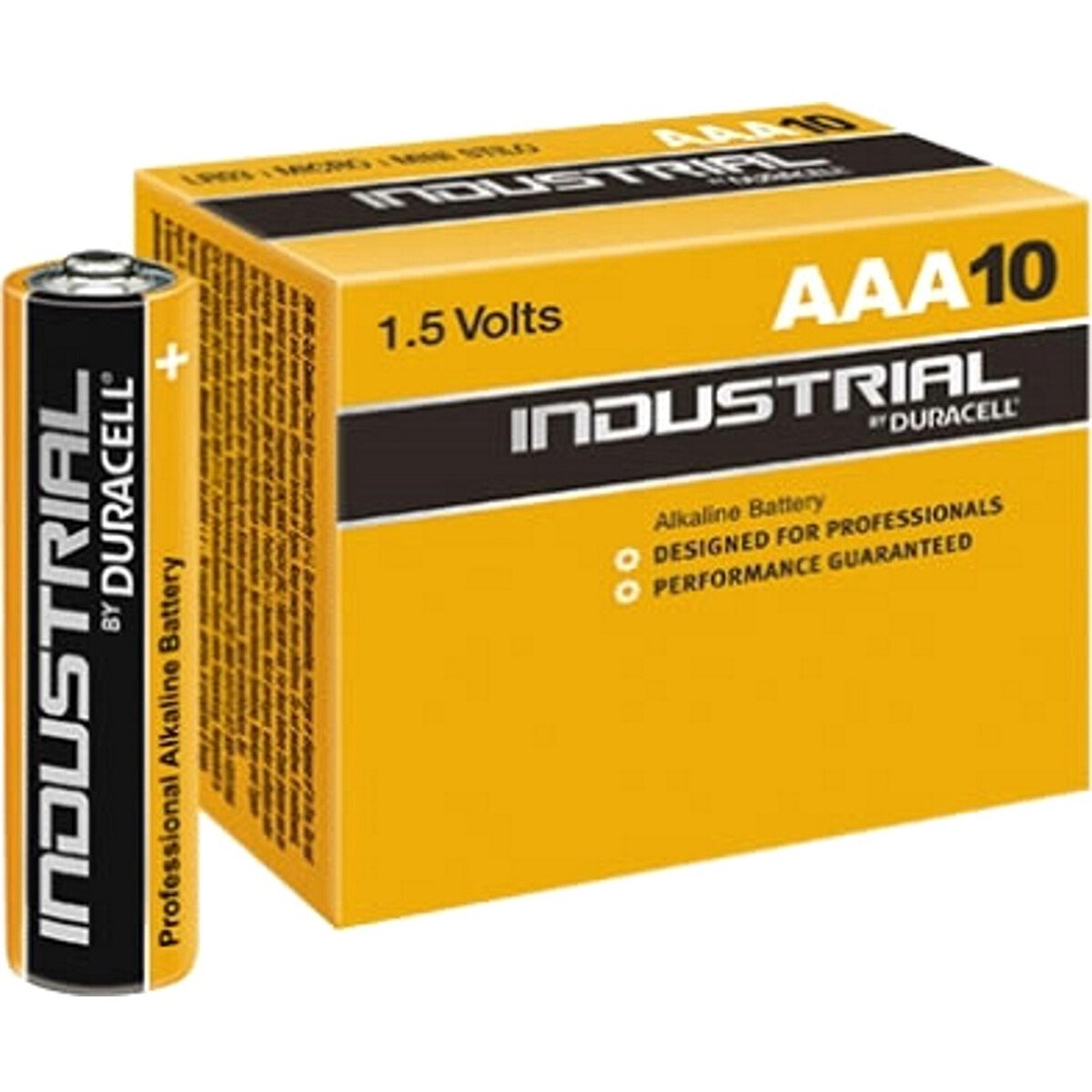 Duracell ID2400 AAA LR03 Industrial /Procell Alkaline Batteries Box of 10