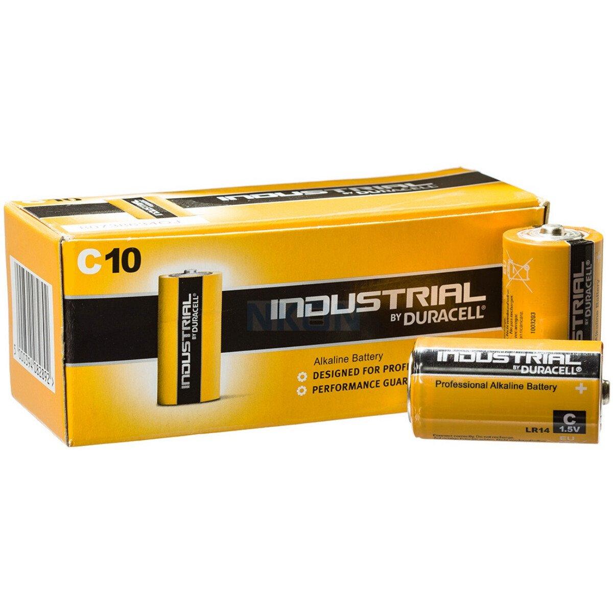 Duracell 1400 'C' Type Industrial/Procell LR14 Alkaline Batteries (Each)