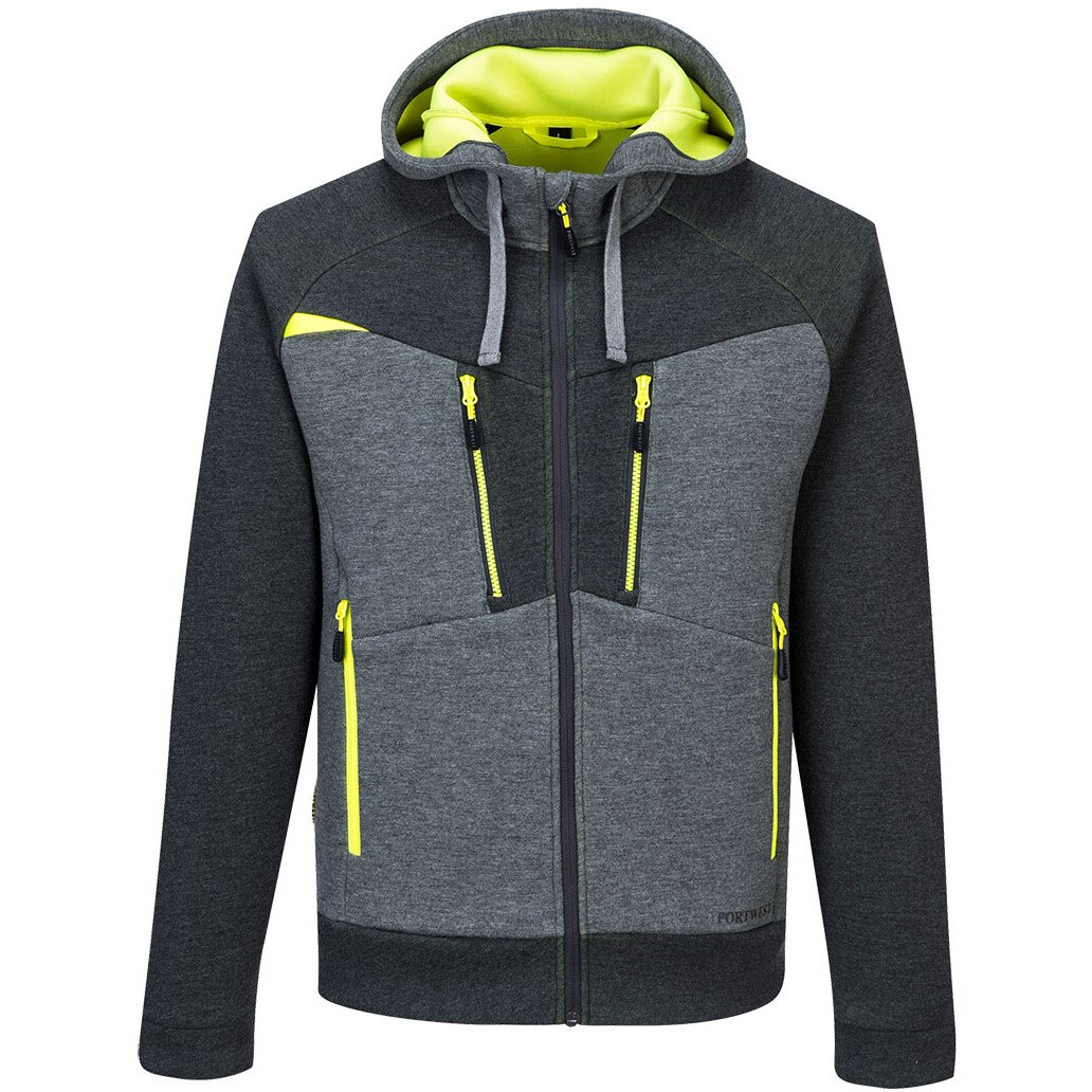Portwest DX472 DX4 Workwear Zipped Hoodie - Various Colours Available