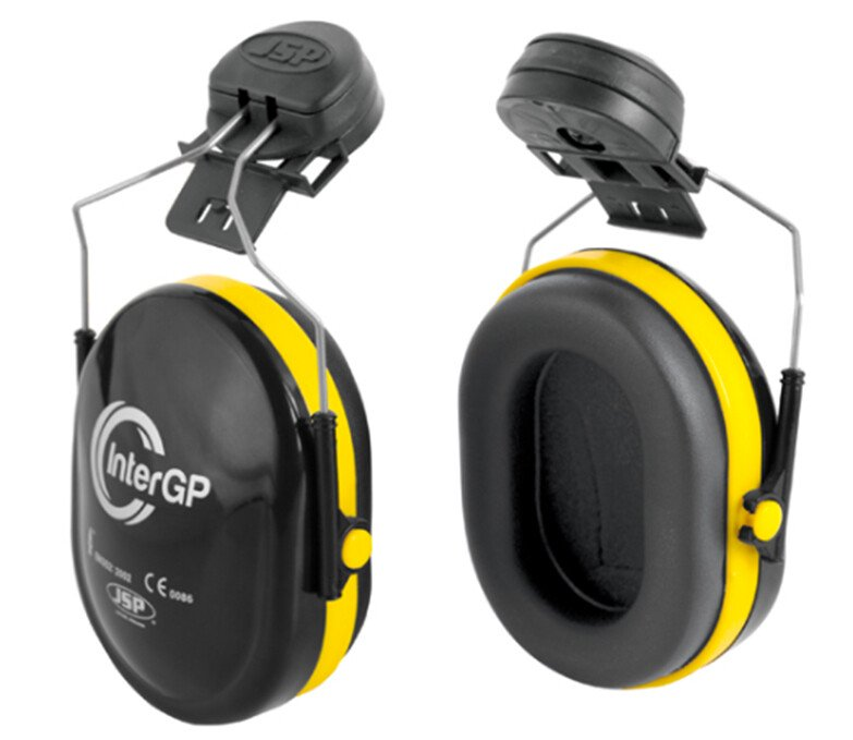 JSP AEK010-005-300 Inter GP Helmet Mounted Ear Defenders Compatible with MK7 + EVO Range (SNR 25)