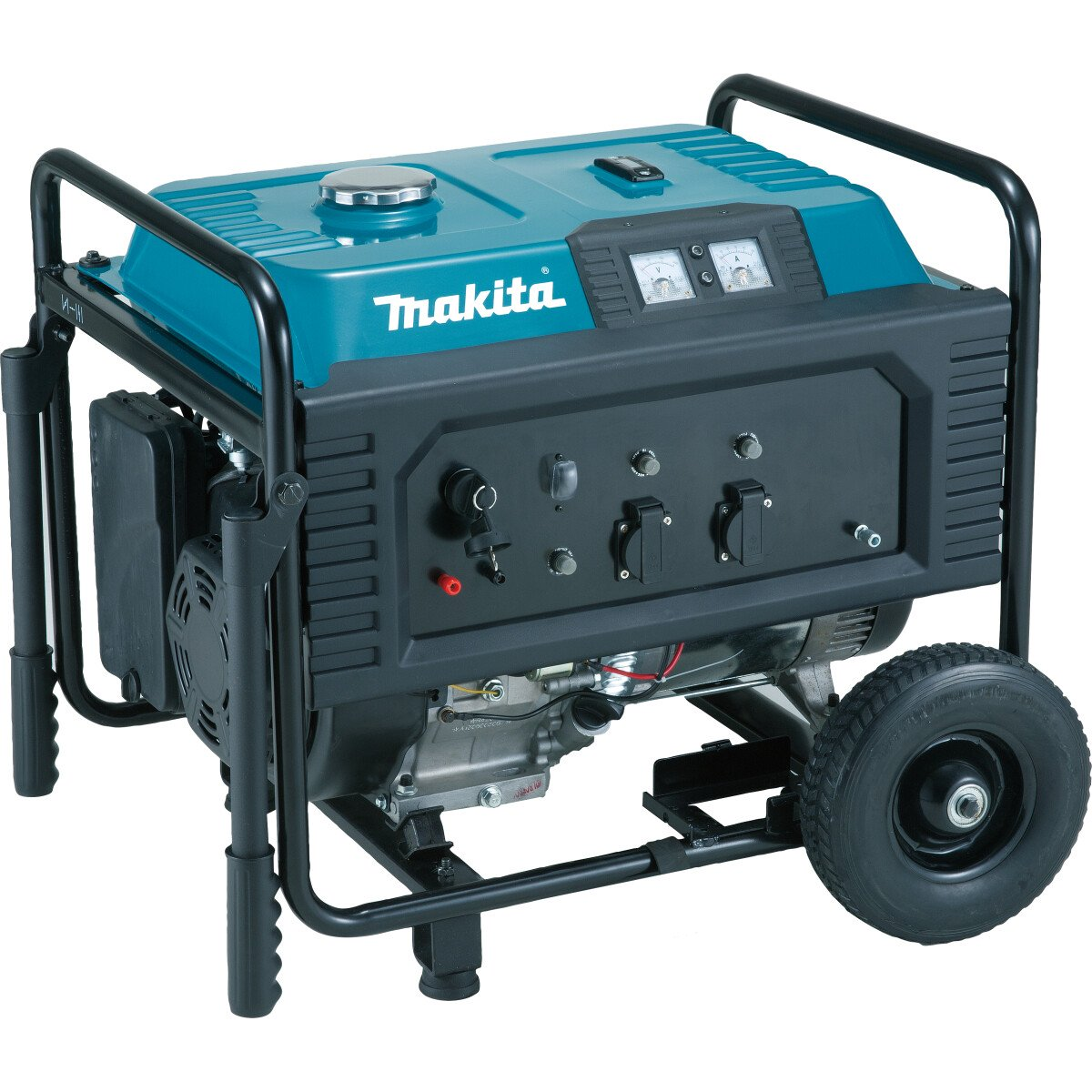 Makita EG4550A 4.5kw 4 Stroke Petrol Generator 25ltr with Accessory Set
