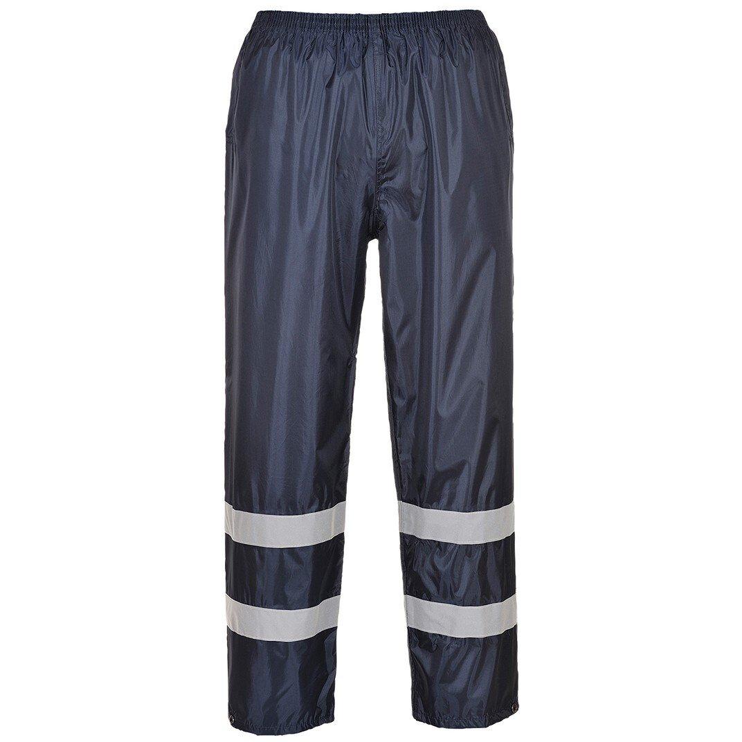 Portwest F441 Classic Iona Rain Rainwear Trousers - Navy Blue