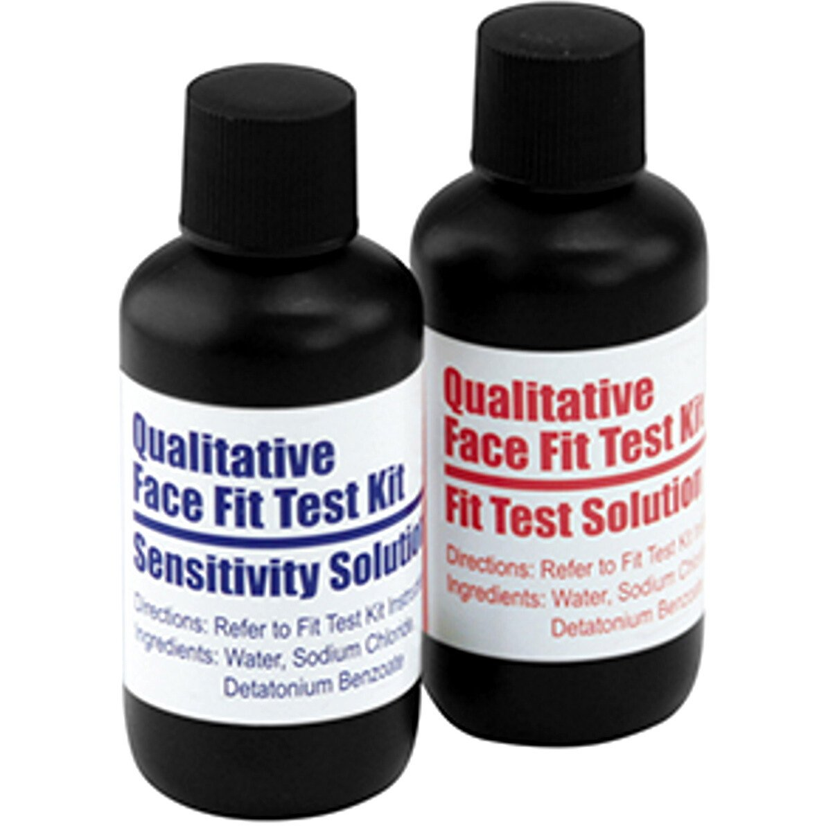 JSP BPT080-000-000 Bitrex Fit Test Solution - 2 x Bottles for Qualitative Face Fit Testing Kit
