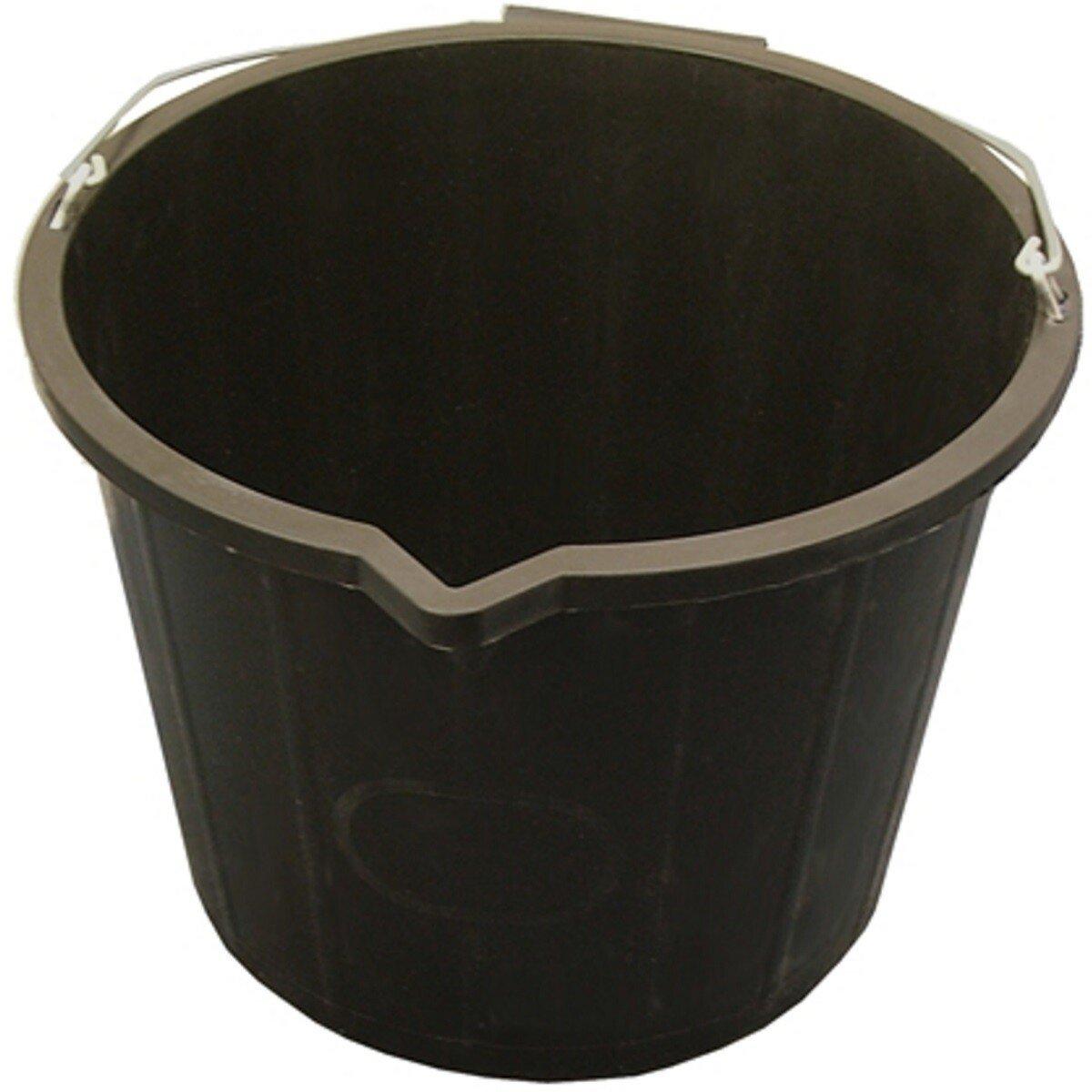 Faithfull FAI3GBUCKET 3 Gallon (14 litres) Black Plastic Bucket