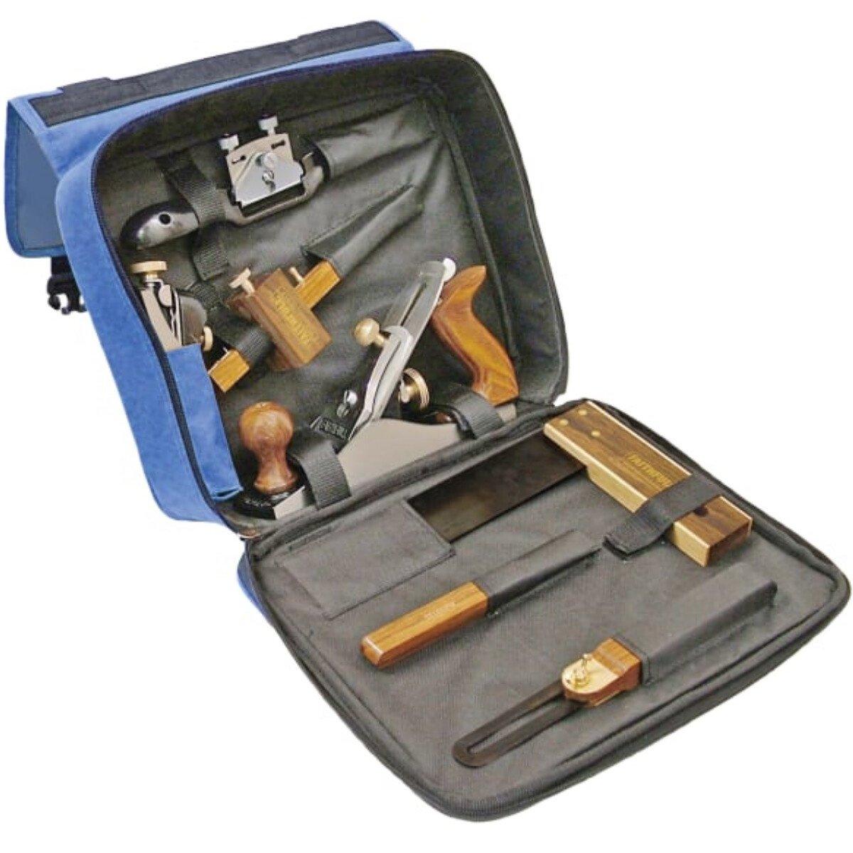 Faithfull FAICARPBAG Carpenters 7 Piece Tool Set in Tool Bag