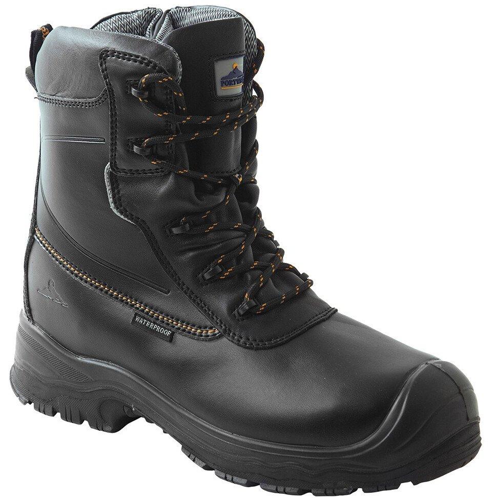 Portwest FD02 Portwest Compositelite Traction 7 inch (18cm) Safety Boot S3 HRO CI WR - Black
