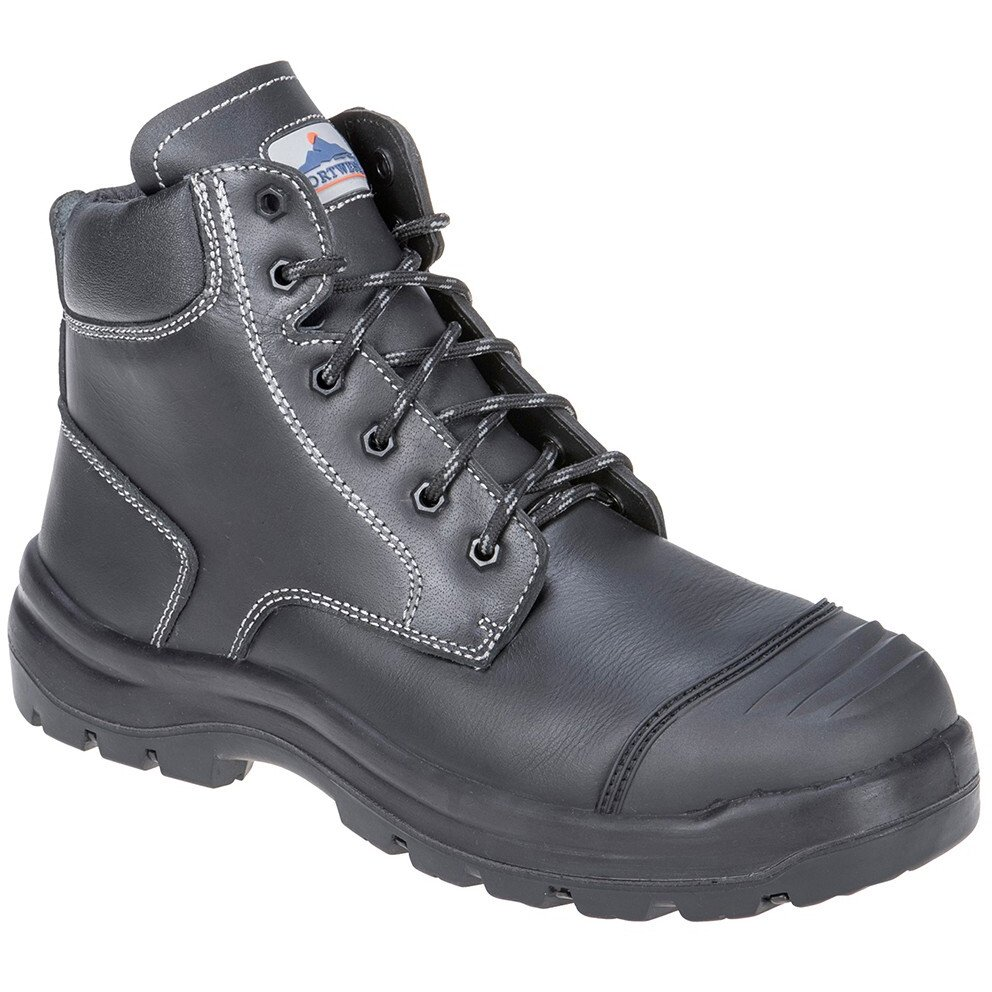 Portwest FD10 Clyde Safety Boot S3 HRO CI HI FO - Black