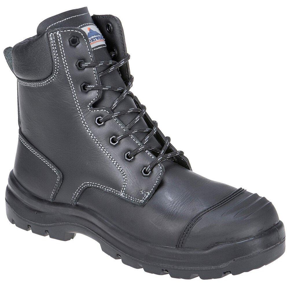 Portwest FD15 Eden Safety Boot S3 HRO CI HI FO - Black