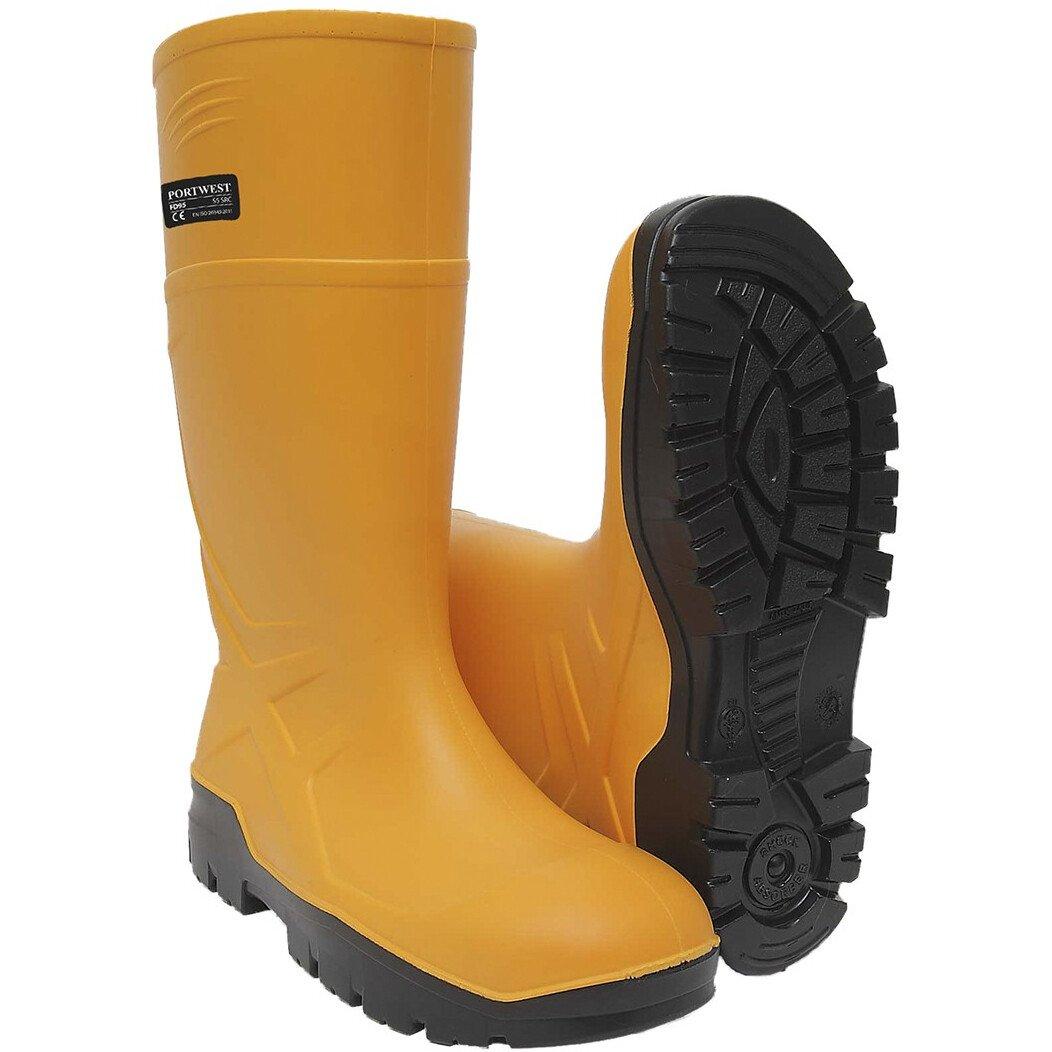Portwest FD95 PU Safety Wellington S5 CI FO - Yellow
